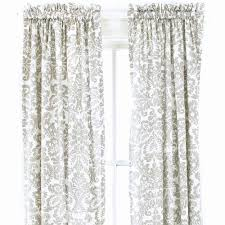 silver damask curtain panel and nursery kid bedding sets in