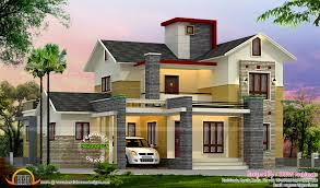 modern home 2300 sq ft kerala home design and floor plans