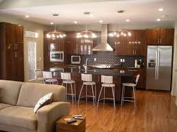 Open Floor Plan Helps This Kitchen Serve As A Central Gathering Centralized Kitchen Floor Plans
