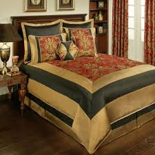 Tan And Black Comforter Sets Buy Red California King Comforter Sets From Bed Bath U0026 Beyond