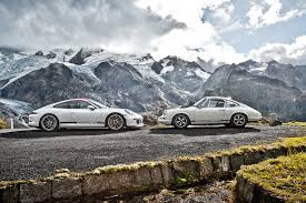 porsche 911 r 2017 porsche 911 r and 1967 911 r face to face sssupersports