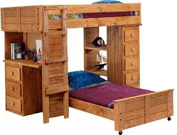 Bunk Beds With Desk Underneath Plans by Wood Bunk Bed With Desk Underneath Plans Home Design Ideas