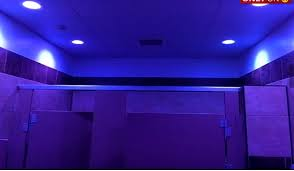 sheetz in western pa installs blue lights in bathroom to deter