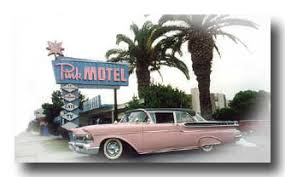 Classic Motel Pink Motel 1950 1960s Motel Rooms 818 767 3605