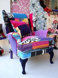 Colourful Upholstery Fabric Furniture Multi Coloured Patchwork Sofa Patchwork Quilt Patterns