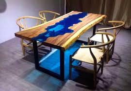 Glass And Wood Dining Tables The 15 Most Unique River Tables