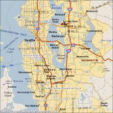 seattle map seattle map travelquaz