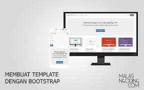 membuat website bootstrap membuat template blog sederhana dengan bootstrap malas ngoding