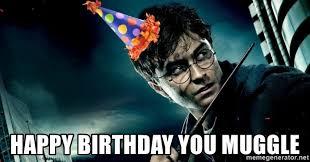 Harry Potter Birthday Meme - harry potter happy birthday meme generator