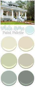 color palette for home interiors 2258 best paint whole house color palette images on