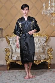 robe de chambre japonaise robe de chambre japonaise homme top femme peignoir en jersey bleu