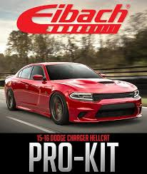 dodge 2015 charger hellcat eibach pro kit lowering springs 2015 2018 392 6 4l 6 2l