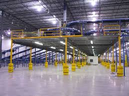 mezzanine storage systems that utilize warehouse air space 800