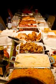 chow line thanksgiving leftovers stored in the fridge safe to eat