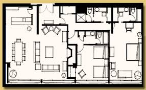 Hotel Suite Floor Plans Disneyland Hotel 2 Bedroom Suite Floor Plan Memsaheb Net