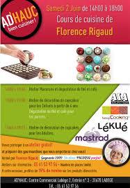 ad hauc cuisine flo et mimolette ateliers macarons et cupcakes samedi 02 juin à