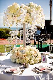 Orchid Centerpieces Ceremony Magazine Feature Custom Event Productions