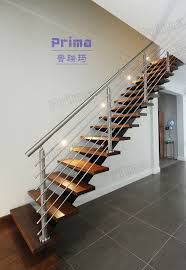 Stainless Steel Stairs Design Stainless Steel Staircase Handrail Design Plastic Wood