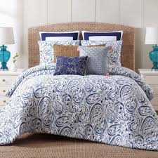 Navy Blue And Gray Bedding Buy Paisley Bedding Sets Comforters From Bed Bath U0026 Beyond