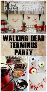 zombie fun easy diy terminus walking dead party oriental