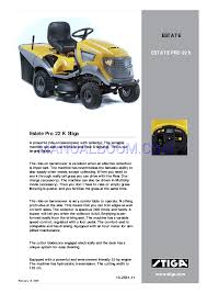 read online user u0027s manual for stiga estate pro 13 2561 11 lawn mowers