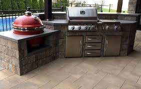 cuisine exterieure beton béton multi surfaces