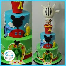 hot air balloon cake topper landon s mickey mouse clubhouse hot air balloon cake