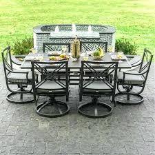 Swivel Rocker Patio Dining Sets Patio Dining Sets With Swivel Rocker Chairs Outdoor Furniture