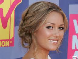 part updo hairstyles lauren conrad middle part updo long