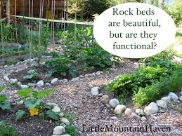 rock beds are beautiful but are they functional