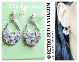 clip on earrings that don t hurt clip earrings archives comfortable bridal wedding clip on earrings