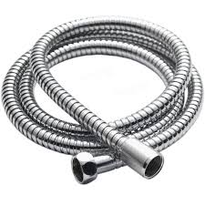 Shower Head For Bath 1 8m Flexible Stainless Steel Chrome Standard Water Hose Pipe For