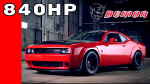 Dodge Challenger Nascar - 2018 dodge challenger srt demon youtube
