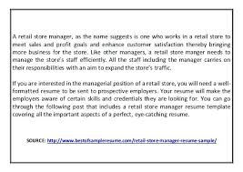 resume exles for 2 manager resume exles retail manager resume sle 2