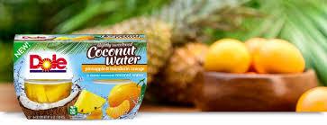 dole fruit bowls dole coupons high value dole fruit bowls in slightly sweetened