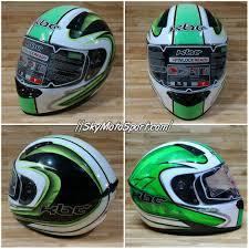 kbc motocross helmets v zero white green