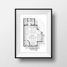 amazon com central perk cafe floor plan friends tv show layout
