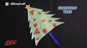 diy easy ice cream stick christmas tree how to make jk easy