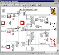 digital logic circuit design simulator software electronic circuits