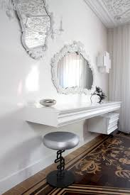 Mirrored Desk Vanity Bedroom Makeup Vanity Mirror Desk Vanity Combo Bedroom Makeup