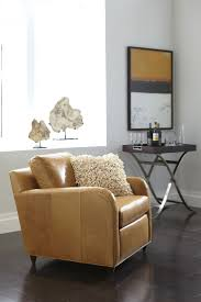 Fancy Leather Chair Furniture U0026 Rug Exiting Ethan Allen Recliners For Modern Home