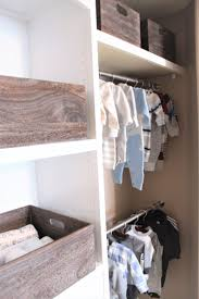nursery closet makeover just like playing house