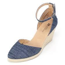Images of Denim Wedge Sandals