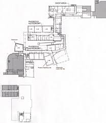 lower level floor plan of science center