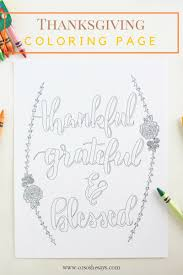 free printable thankful coloring page perfect for thanksgiving