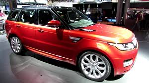 red land rover old 2014 range rover sport autobiography exterior and interior