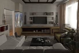 living room dark brown leather upholstered sofa also round coffee