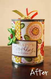 recycled soup can gift box gift ideas pinterest box gift