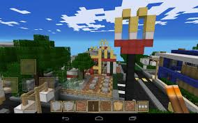 post pic of best house infrastructure you build in mcpe mcpe