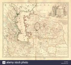 Nova Map Nova Maris Caspii Et Regionis Usbeck U0027 Caspian Uzbek Central Asia
